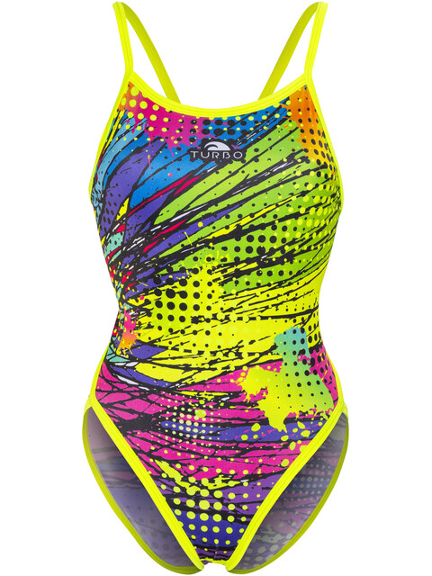 Turbo Kriptonite Revolution Thin Strap Swimsuit Women Yellow
